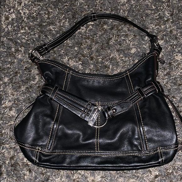 Tignanello Genuine Leather Shoulder Bag